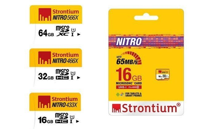 From Rs.369 for a Strontium Nitro UHS1 433X MicroSDXC Card. Choose from 3 Options