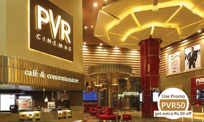 PVR Cinemas Value Voucher worth Rs.500 at just Rs.349