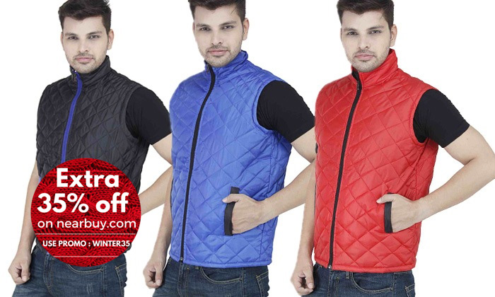 Rs.499 for Stylox Bomber Jackets for Men. Choose from 3 Options and Upto 4 Sizes