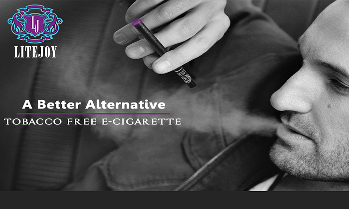 Rs.399 for a Litejoy Rechargeable Electronic Cigarette with USB Charger. Choose from 2 Flavors