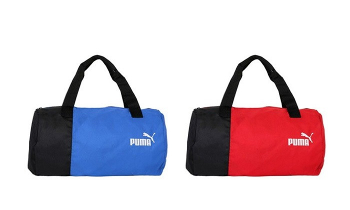 Rs.599 for a Puma Gym Bag. Choose from 2 Colors